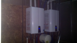 Navien tankless water heater install Rochester NY.....never take a cold shower again!
