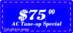 cooling tune-up coupon,Air conditioning tune-up,ac maintenance,air conditioning tune-up