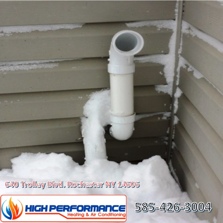Snow blocking your flue pipe can be really dangerous, making sure your flue pipe is clear is extremely important to optimum performance.