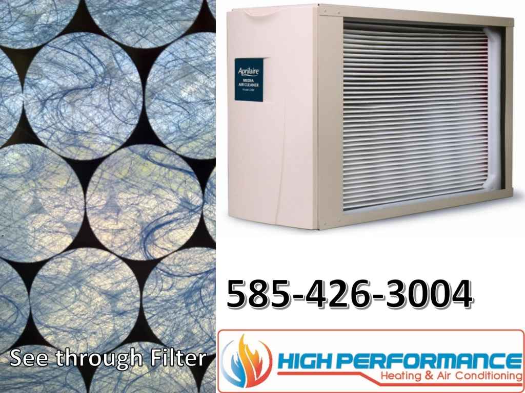Aprilaire filter vs basic air filter