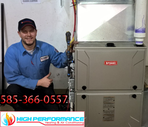 Call today for expert heating system repair service! 585-366-0557