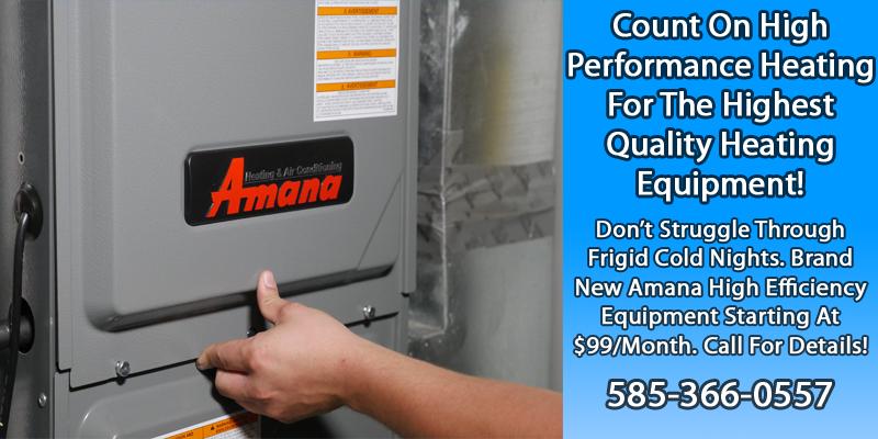 Authorized Amana Dealer - High Performance Heating