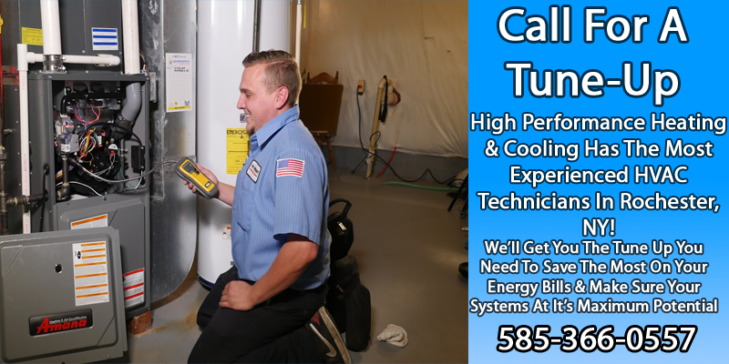 Call for High Performance Furnace Tune ups - Repair Service - High Performance Heating- Happy Harold Crew