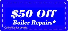 $50 Off Boiler Repair Experts