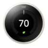 Have you looked into getting a Nest Thermostat? The Nest is a smart thermostat that can link to all of your smart homes devices to help you create an ideal living space