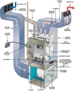 The inside of your furnace has many parts to clean and check. There are small spaces that can hold a lot of dust and debris. This is why routine maintenance is so important.